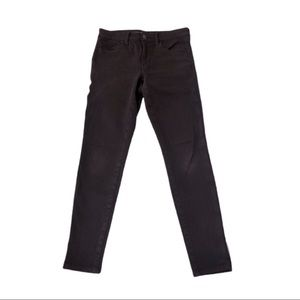 AEO Maroon High Rise Jegging Size 4